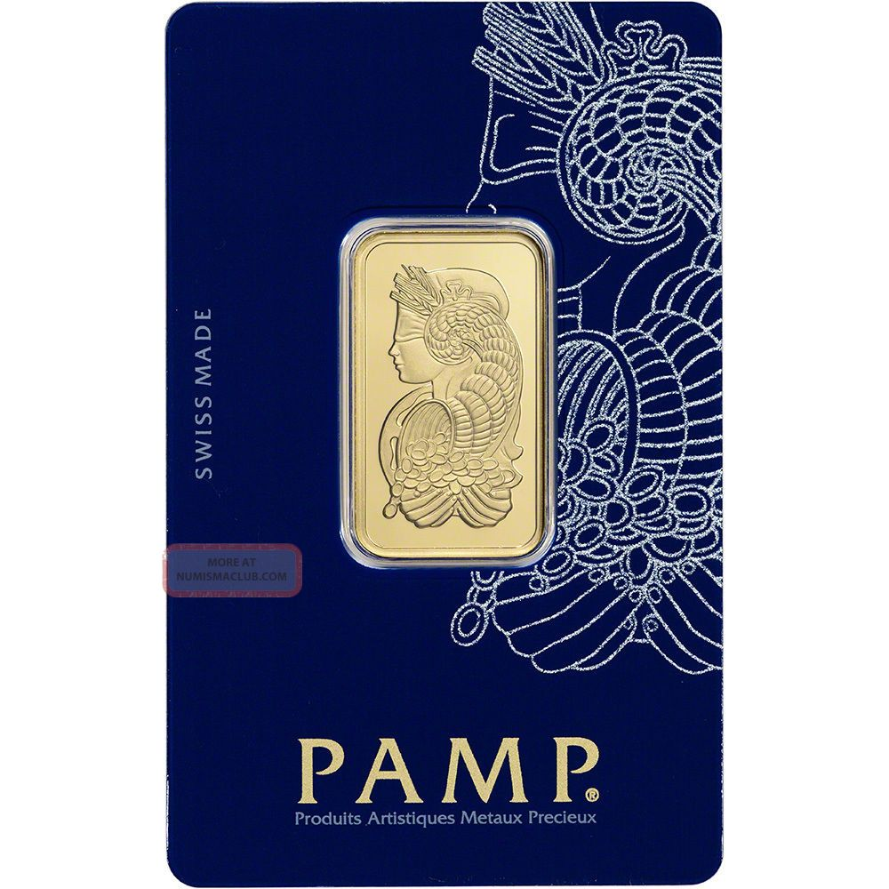 20 Gram Gold Bar - Pamp Suisse - Fortuna - 999.  9 Fine In Assay Bars & Rounds photo