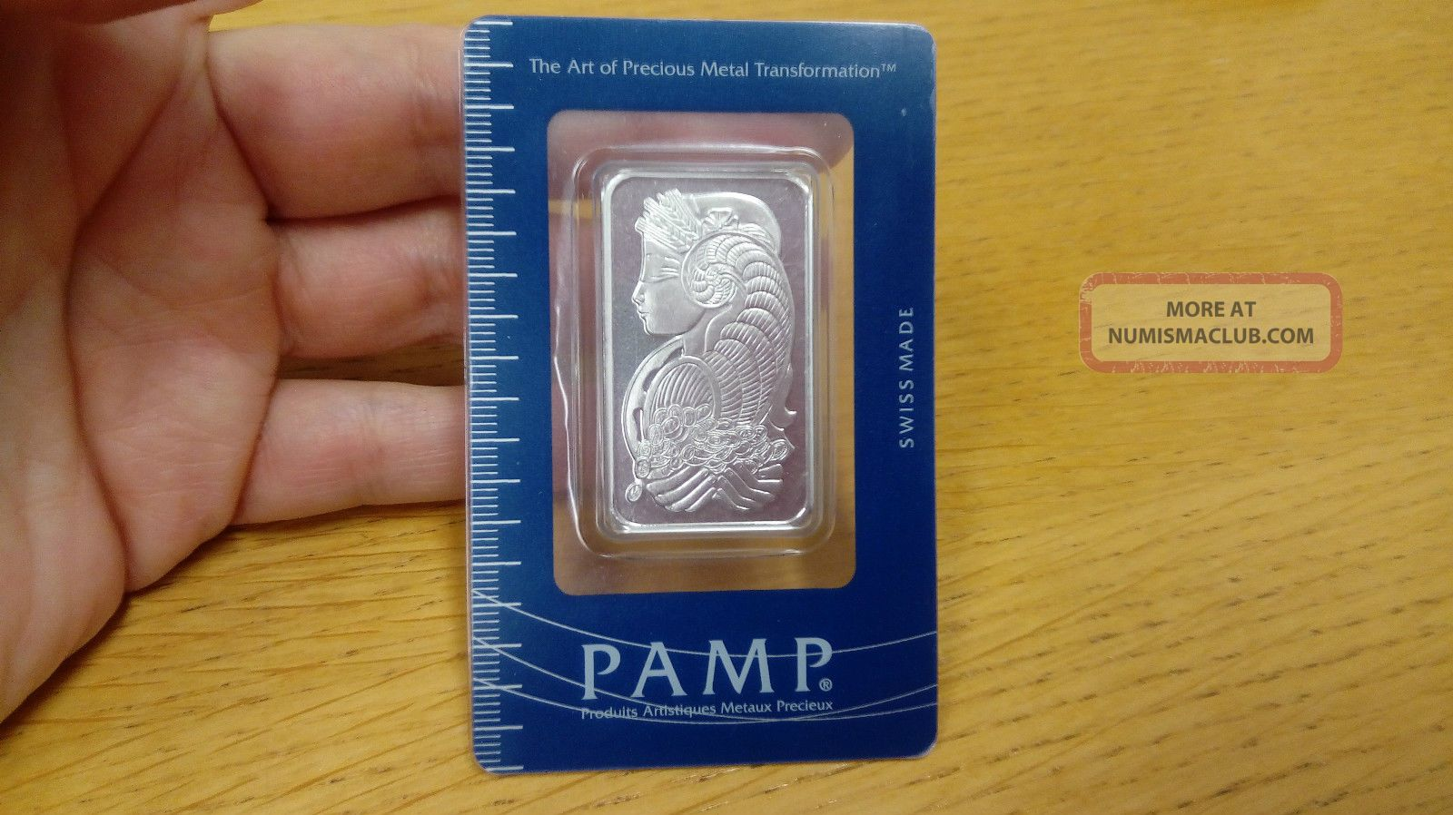 Pamp Suisse 1 Oz.  Palladium Bar Originally In Certificate Bullion photo