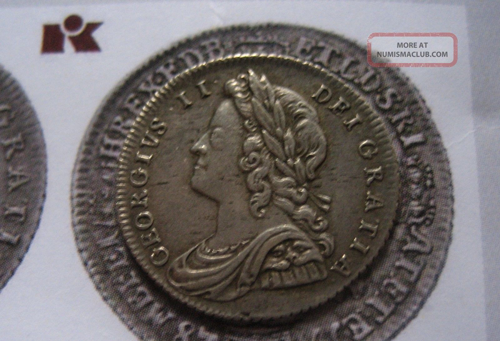 Straordinary Uk Coin George Ii Silver Sixpence