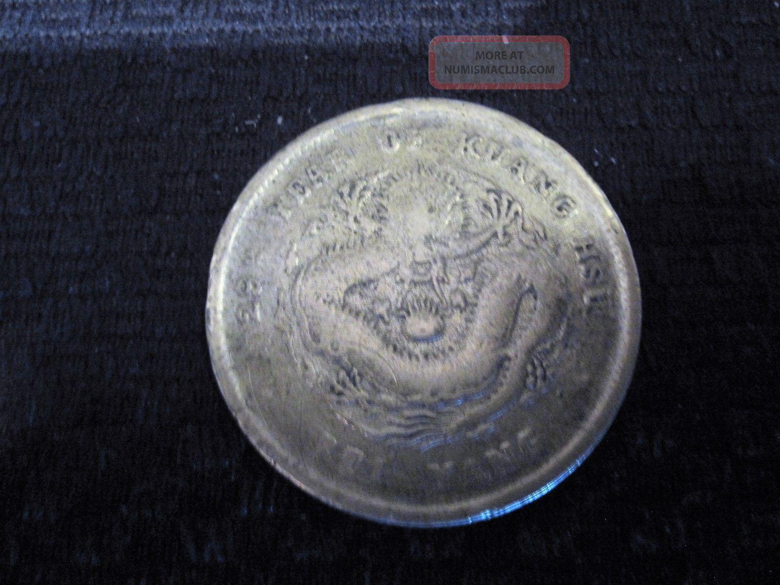1903 Year 29 China Dragon Copper China photo