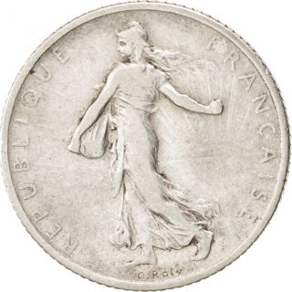 [ 76737] France,  Semeuse,  Franc,  1912,  Paris,  Km 844.  1,  Vf (30 - 35),  Silver,  23 photo