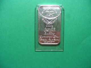 Unc Bristol Va - Tenn 1 Oz.  999 Coca Cola Art Bar 75th Anniversary In Case photo