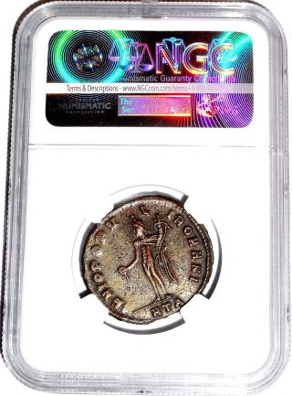 Roman Emperor Maximian Bi Nummus Coin,  The Dominate 286 - 310 A.  D.  Ngc Certified Xf photo
