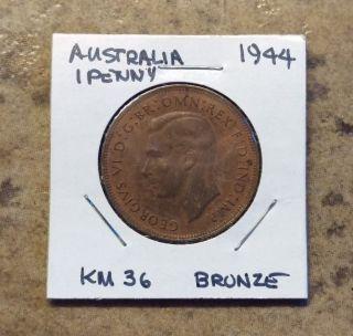Australia 1944,  1 Penny photo
