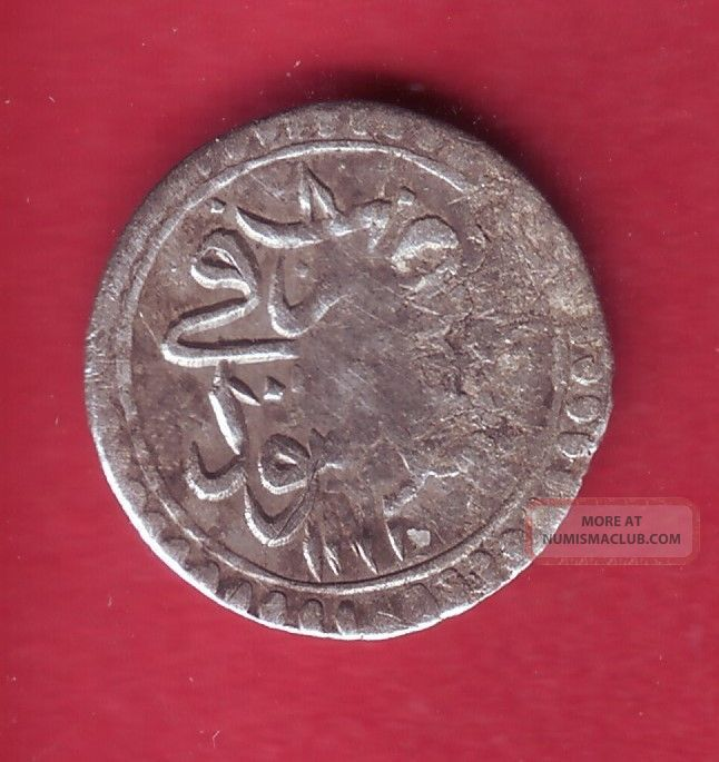R Ottoman Empire Turkey Silver Para Ah1171//8 Mustafa Iii F/vf Details Europe photo