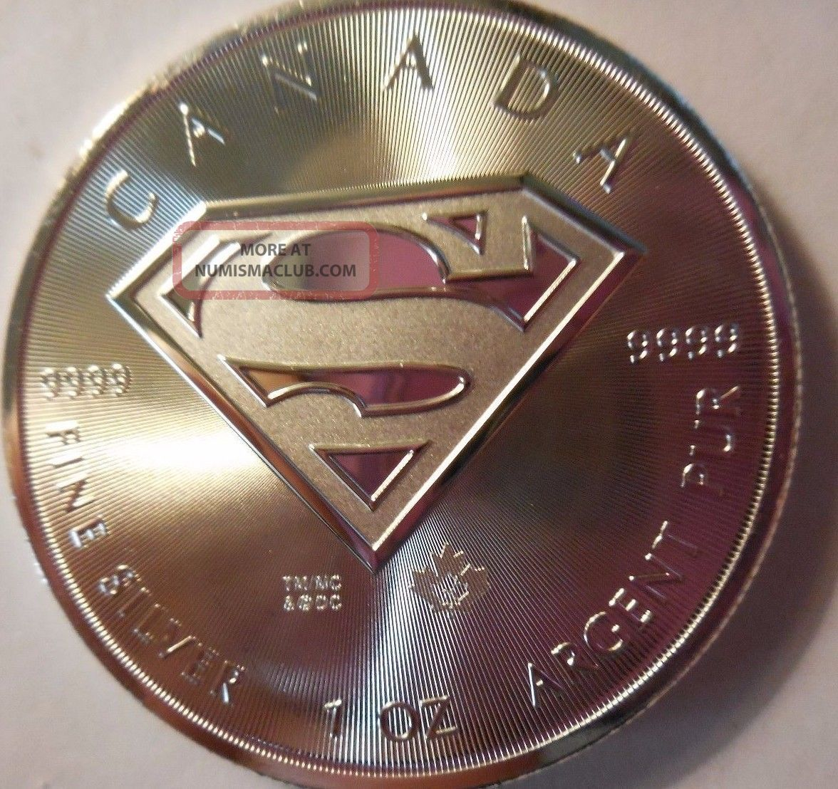 2016 Canadian $5.  00 1 Ounce.  9999 Silver