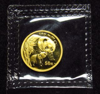 2004 1/10th Oz Gold Panda photo