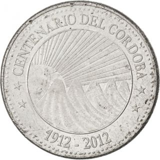 [ 88521] Nicaragua,  5 Cordobas,  2012,  Km 111,  Ef (40 - 45),  Nickel Plated Iron photo