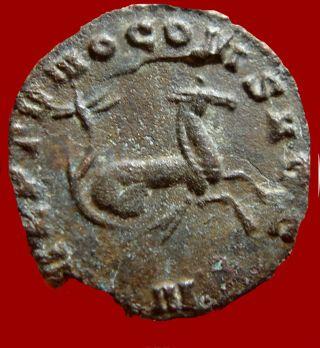 Lucernae Gallienus Ae Antoninianus Rome,  Neptvno Cons Avg.  N.  Hippocamp. photo
