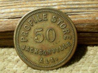 Ca 1900 Jacksonville Alabama Al (calhoun Co)