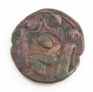 Artuqids Of Mardin Hosam Al - Din Yuluq Arslan A.  H.  580 - 597 (1184 - 1201 Ad) Dirhem photo