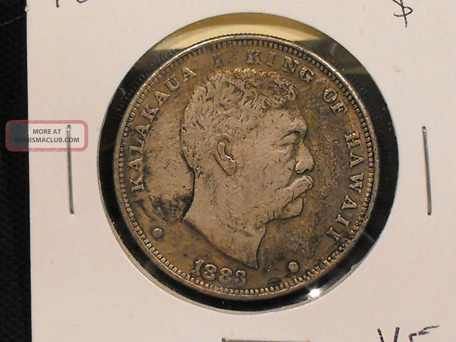 1883 Hawaii Dollar In Vf.  - Us. North & Central America photo