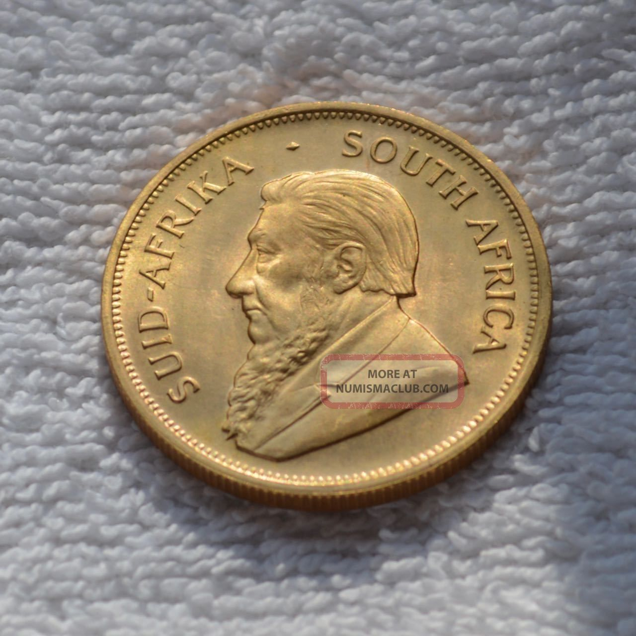 1976 Krugerrand 1 Oz.  South African Gold Coin Unc Fine Gold 1976 Troy Ounce Full Gold photo