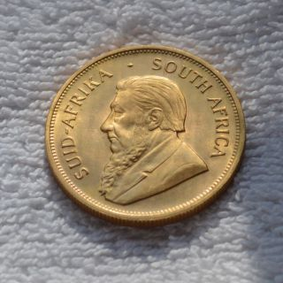 1976 Krugerrand 1 Oz.  South African Gold Coin Unc Fine Gold 1976 Troy Ounce Full photo