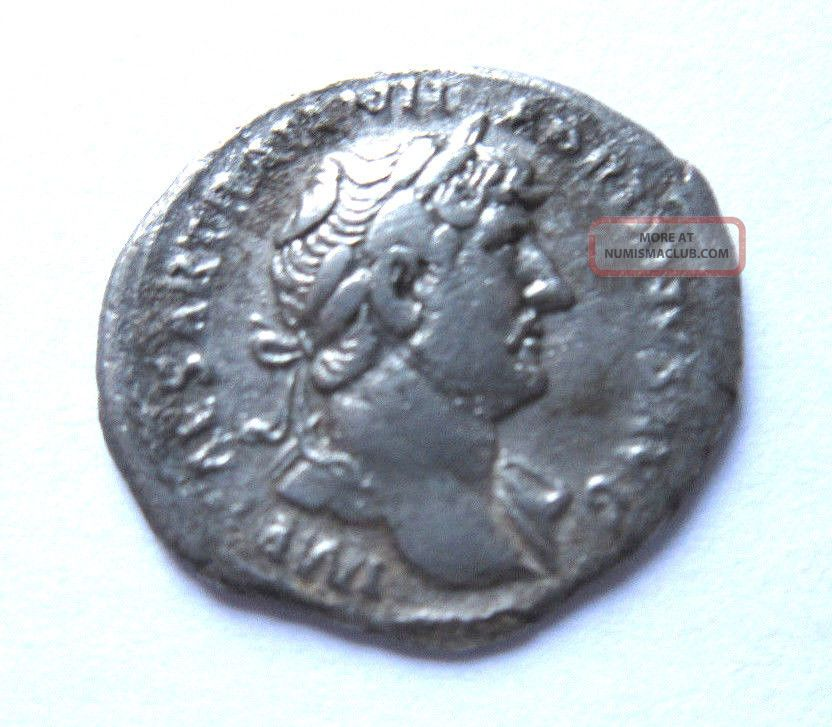 Denar Of Hadrianus Rv.  Moneta Standing Left Coins: Ancient photo