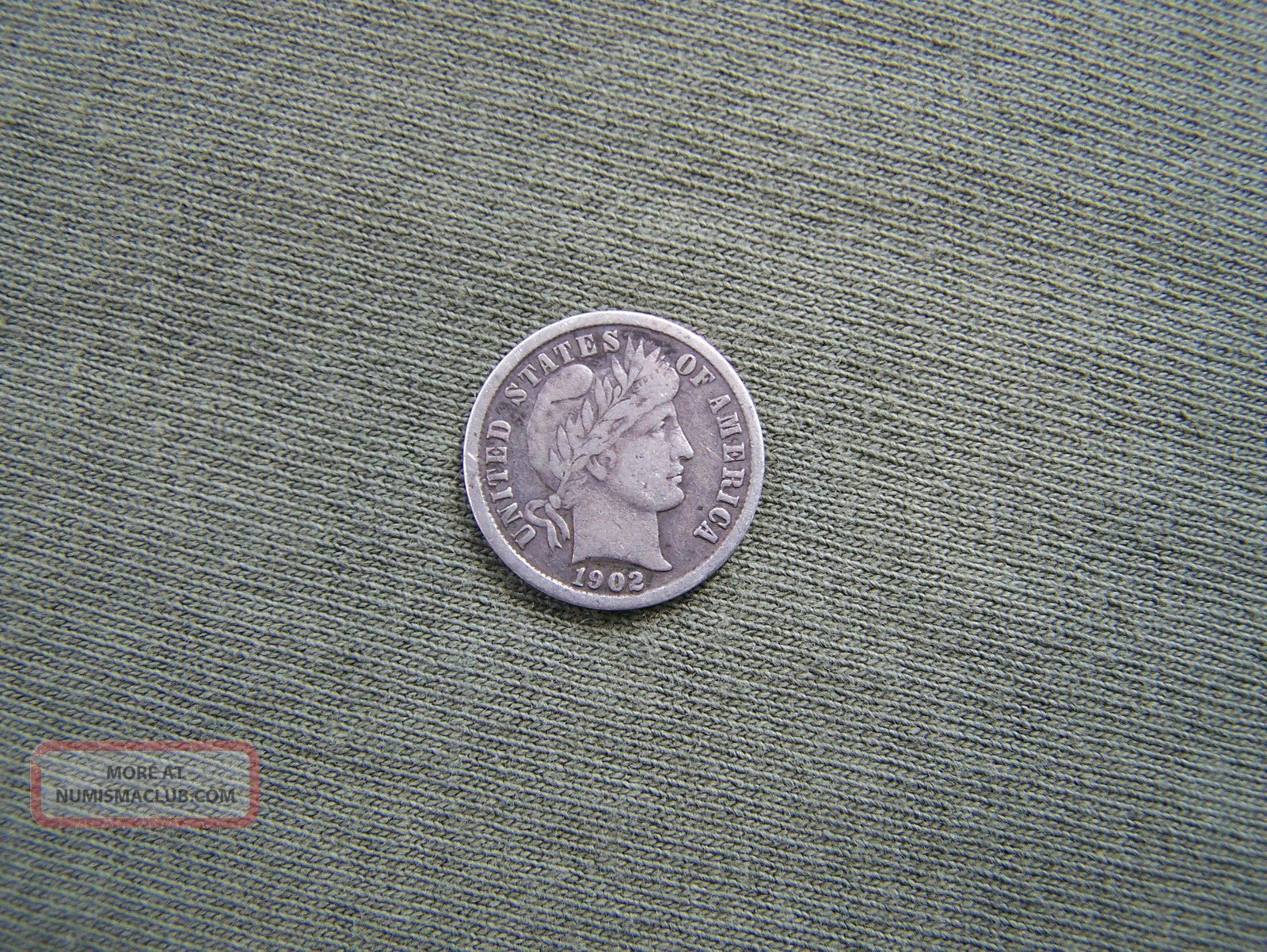 Barber Dime Lords Prayer Token Dimes photo