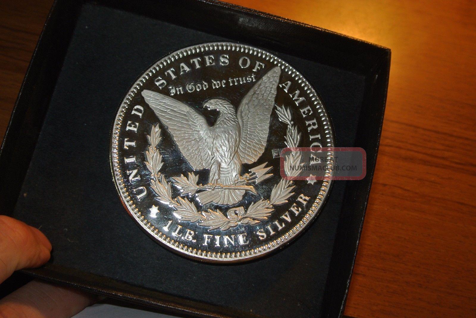 1986 Liberty 1 Troy Pound 12 Oz Silver Round Coin 999