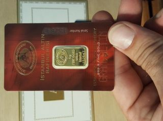 5 Gram Gold Bar True Ebay photo