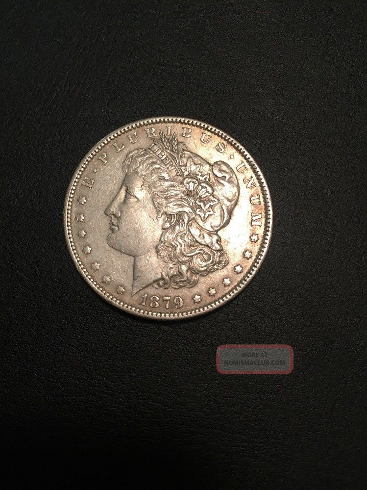 1879 $1 Morgan Silver Dollar Dollars photo