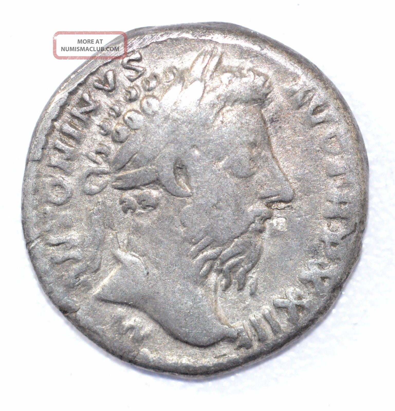 Authentic Marcus Aurelius,  Silver Denarius,  Roman Coin,  Rv.  Salus - A899 Coins: Ancient photo