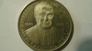 1967 Cardinal Francis Spellman Commemorative Coin photo