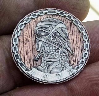 Hand Carved Hobo Nickel