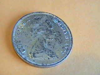 1966 Bahama Islands Fifty Cents Coin photo