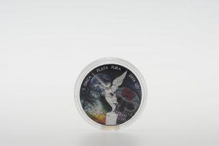 2016 Libertad 1 Oz Dia De Muertos Silver Coin photo