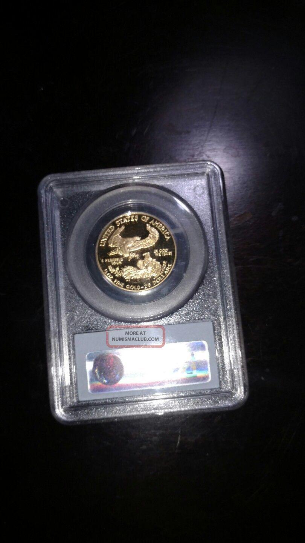 1991 - P Pr69 Dcam $25 American Eagle Gold photo