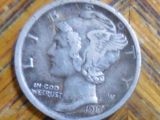 1917 - P Mercury Dime (seller ' S 516) photo