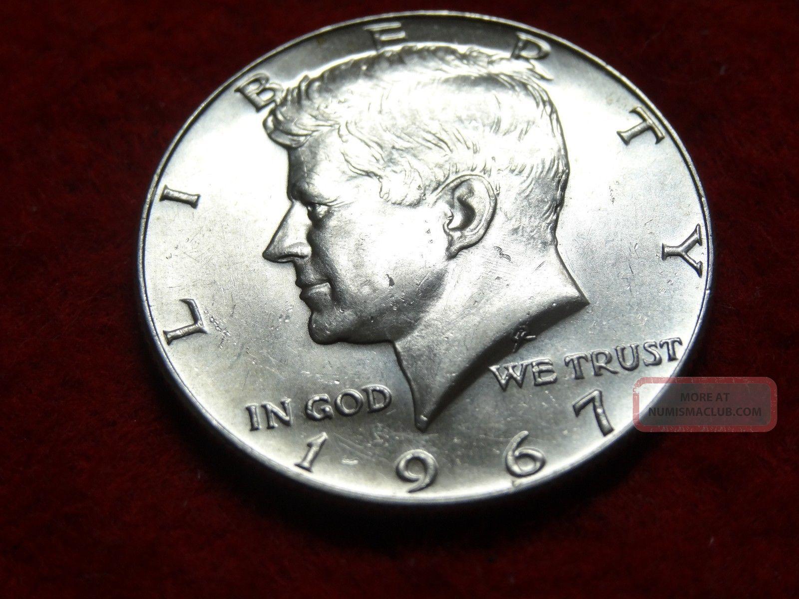 1967 Kennedy Silver Half Dollar 40 Half Dollars photo