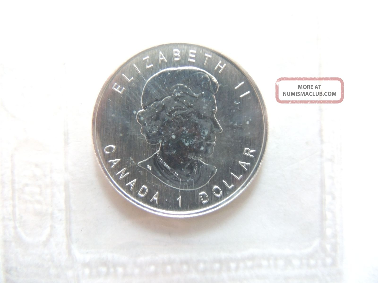 2006 Canada One 1 Dollar Timber Wolf Silver Half Ounce