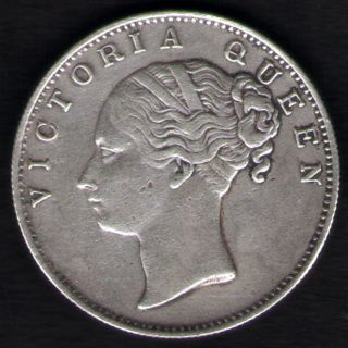 British India - One Rupee 1840 Victoria Queen - Continuos Legend Rare Silver Coi photo