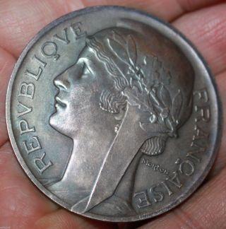 French 19th Century Regatta Sterling Sliver Marchande Medal By Morlon photo