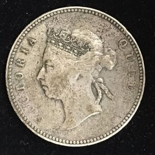 1894 Hong Kong 50 Cents Vg, photo