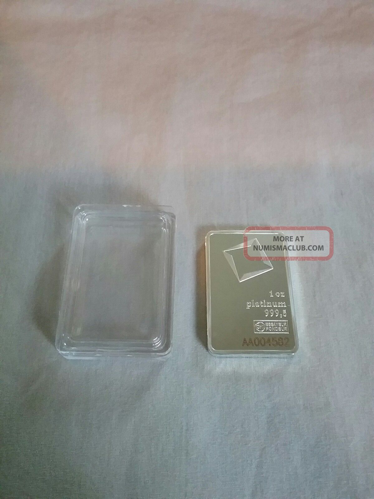 Valcambi Suisse 1oz Platinum Bar Platinum photo