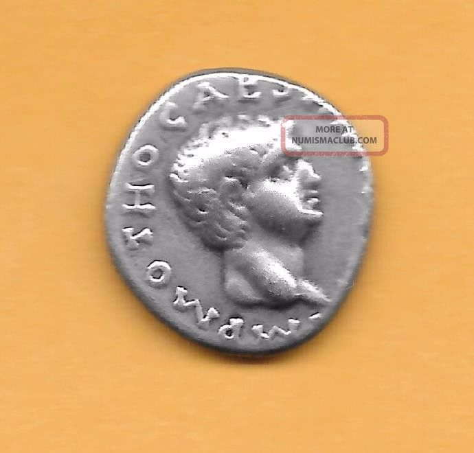 Denarius Of Otho Coins: Ancient photo