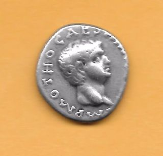 Denarius Of Otho photo