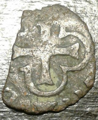 ☆rare Silver Pirate Coin Only One In Existence☆ Dug And Found On Oak Island photo