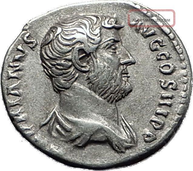 Hadrian 117 - 138ad Silver Rare Ancient Roman Coin Fortuna Luck Cult I58490 Coins: Ancient photo