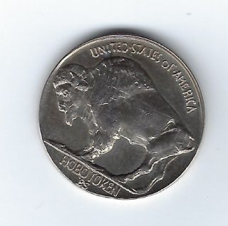 Gmm - Ron Landis 1999 Liberty Coal Miner/buffalo Hobo Token photo