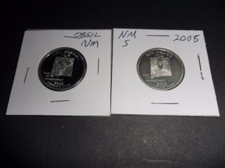 2 For 1 2008 S Silver & S Proof State Quarter - Mexico photo