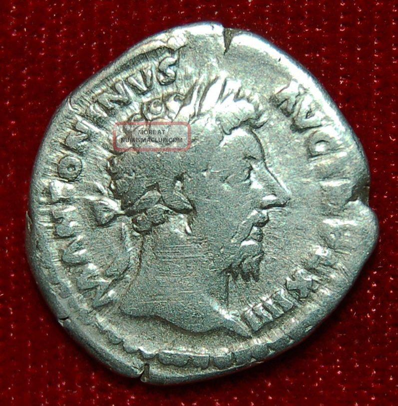 Roman Empire Coin Marcus Aurelius Fortuna On Reverse