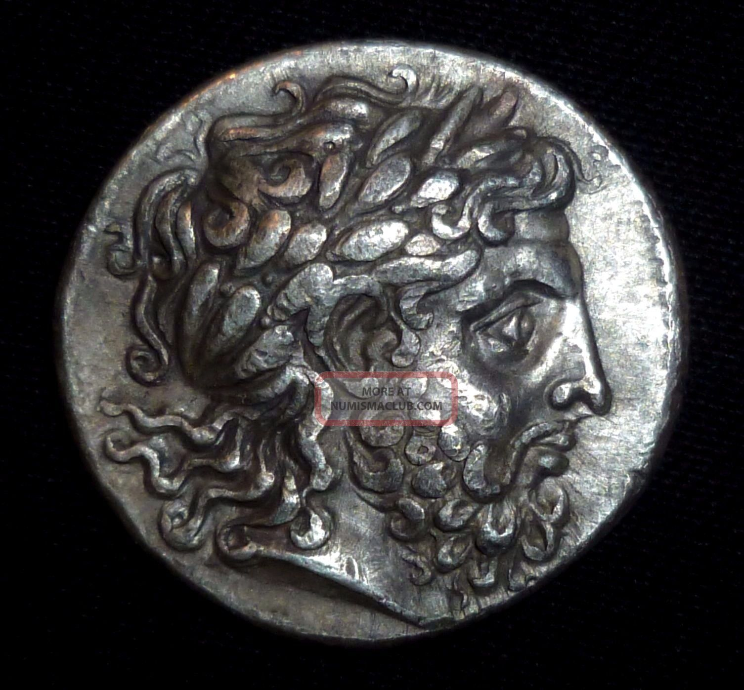 Greek Ancient Coin - Philip Ii Of Macedon - Silver Tetradrachm Circa 359–336 Bc Coins: Ancient photo