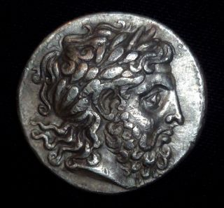 Greek Ancient Coin - Philip Ii Of Macedon - Silver Tetradrachm Circa 359–336 Bc photo