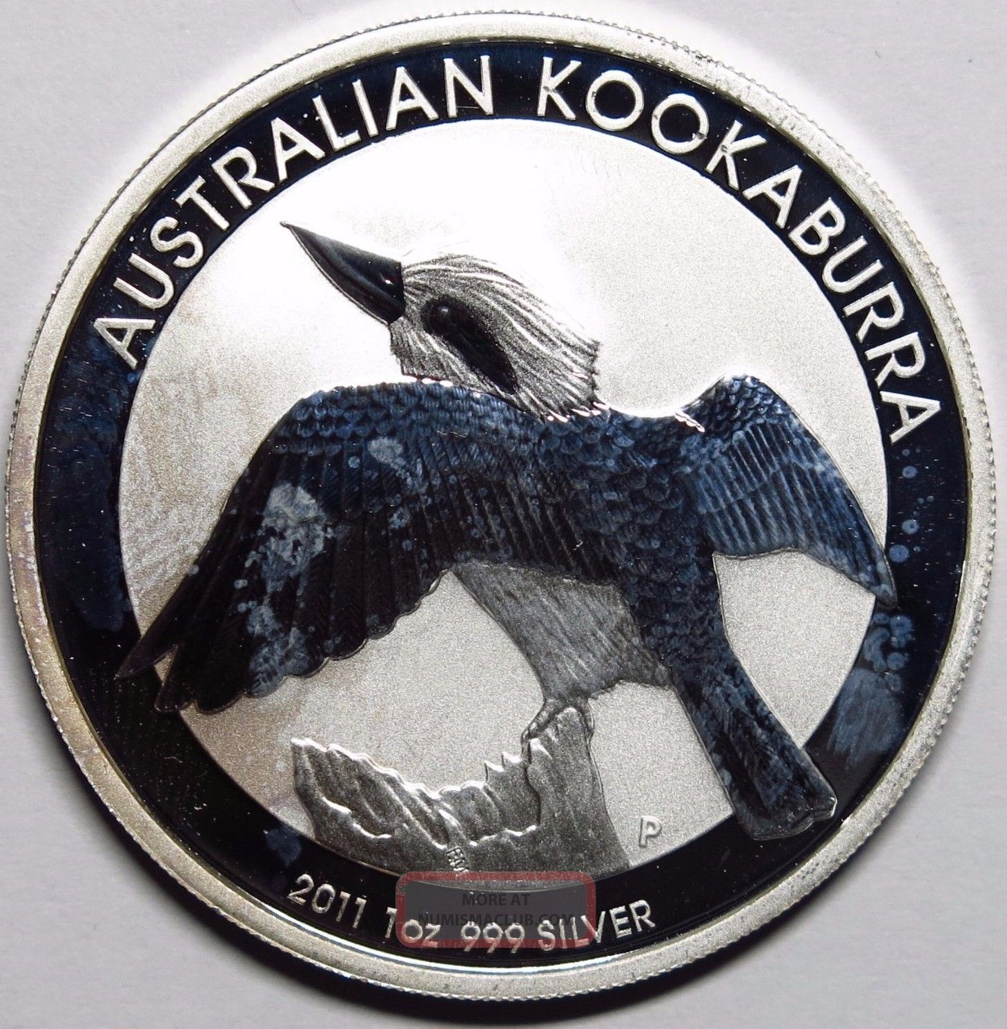 2011 Australia 1 Oz Silver Kookaburra Round Commemorative photo