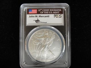 Pcgs 2012 W Sp70 Burnished Silver Eagle photo