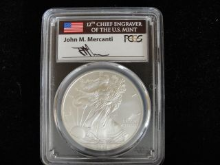 Pcgs 2008 W Sp70 Burnished Silver Eagle photo