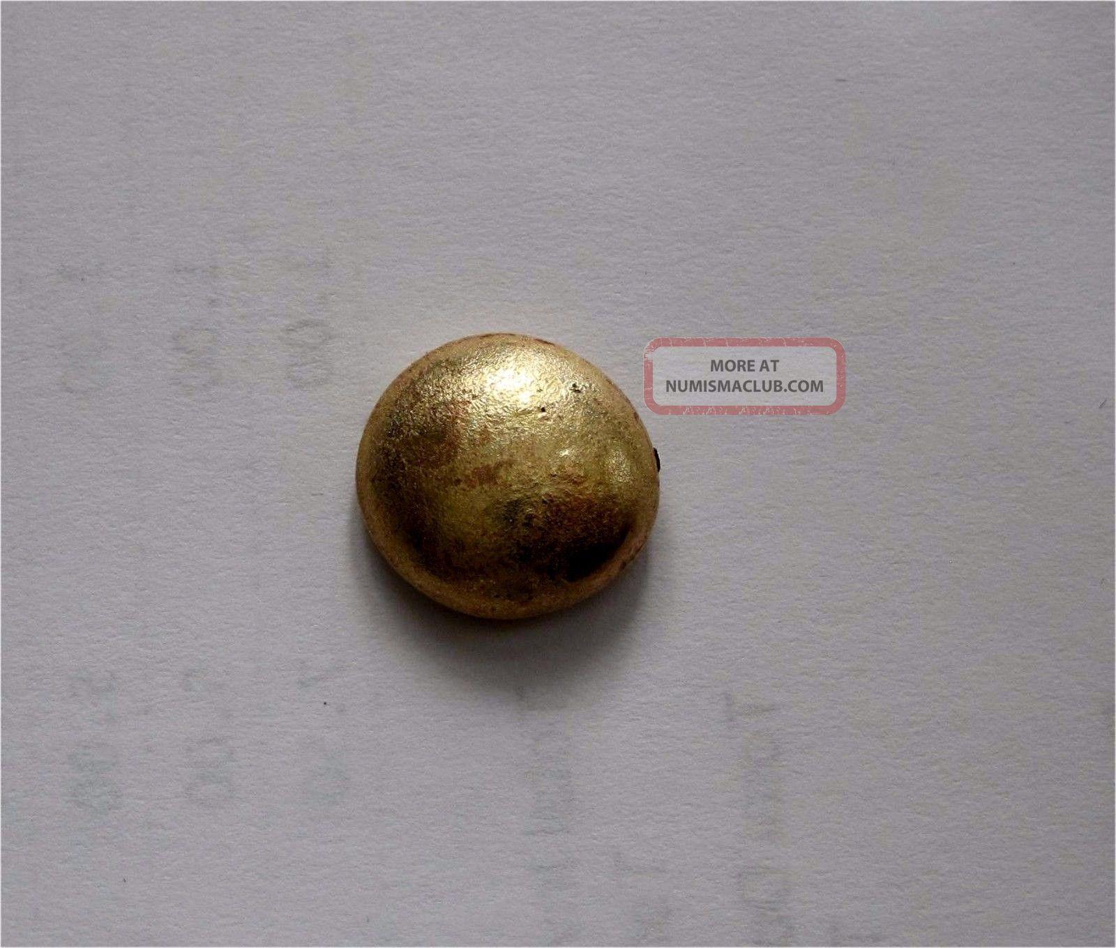 China,  Malaysia Gold Sycee Ingot Teal Shipwreck 8.  2 Gr China photo