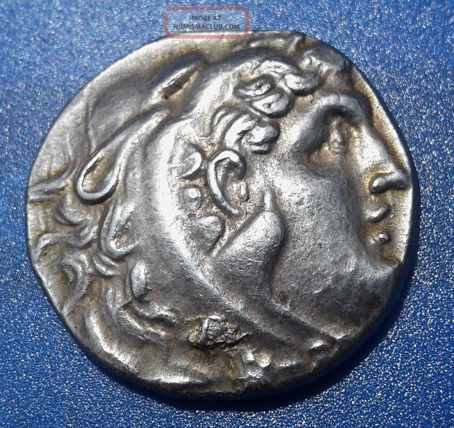 Alexander The Great. Rare Issue Tetradrachm. Exquisite ...